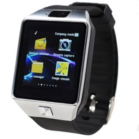 A Smart Watch For Android Phone Support SIM SD Card Bluetooth Call The Watch Metal Case