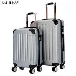 20 24 بوصة PC الكرتون سبونجبوب السفر حقيبة على عجلات المقصورة عربة الأمتعة حقيبة المرأة المتداول الأمتعة جميل الطريق حقيبة