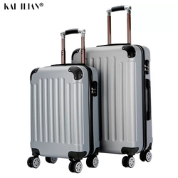 20 24 zoll PC cartoon spongebob reise koffer auf rädern kabine trolley gepäck tasche Frauen roll gepäck schöne straße koffer