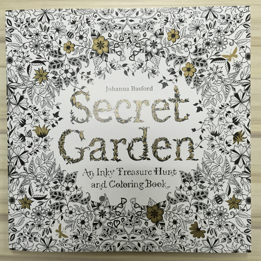 Aliexpress Buy Secret Garden 4 Books 24 The Root Color Pencil Adult Reaction Coloring Book Antistress Graffiti Painting Drawing From