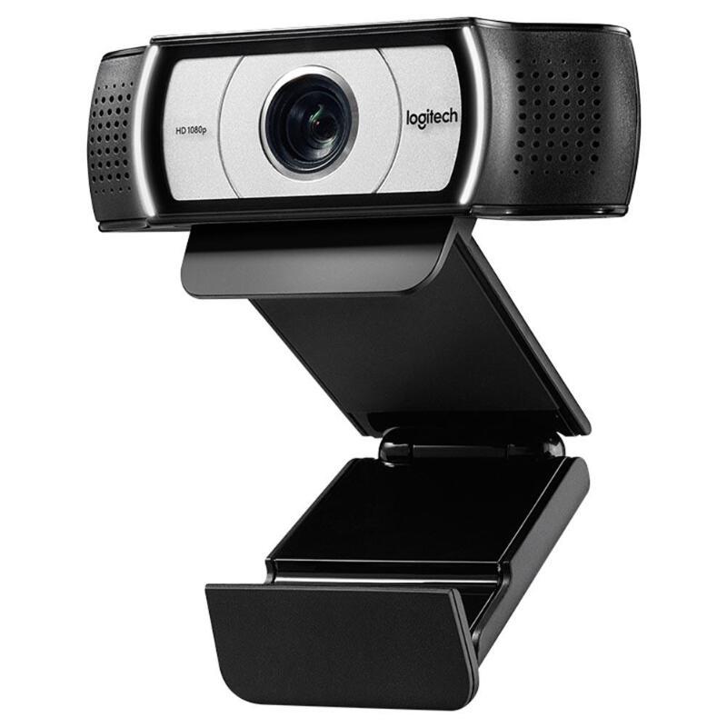 Webcam Logitech C930e 1080p HD avec obturateur d'intimité caméra Web à 90 degrés