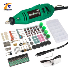 Electric Drill 260W Dremel Polishing Power Tools Drilling Machine China Mini Engraver Machine Electric With Flexible Shaft tungfull electric drill engraver kit metalworking mini electric drilling machine power tool tools grinder flex shaft machine