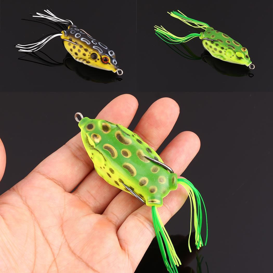 1Pcs simulation isca artificial Fishing Lures Frog Lure fishing Essential tool