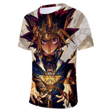 New Men/Women Games Duel Monster Characters Paparazzi 2018 T-shirt Yu Gi Oh Monster's Anime 3D Print T Shirts Harajuku Tee Tops(China)