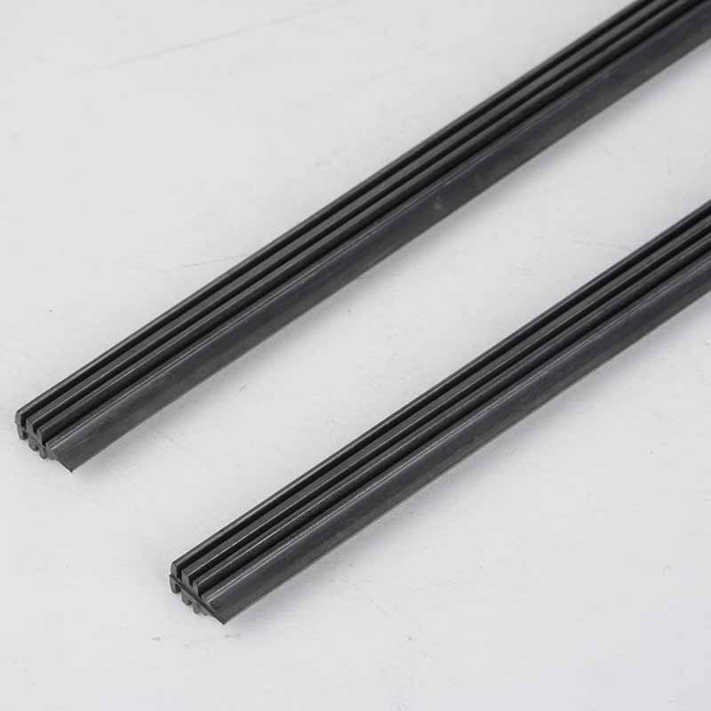 Mayitr 2Pcs 28 inch 6mm Vehicle Auto Windscreen Wiper Blade Refill Universal Car Rubber Frameless Windshield Wiper Blade Refill