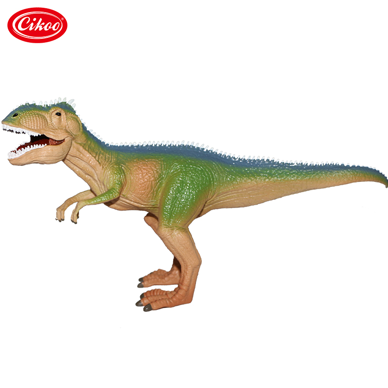 Jurassic Dinosaur Model Plastic Animal Height Simulation Giganotosaurus Action Figure Toys Collection For Kids Gifts 12pcs set dinosaurs plastic model children simulation animal solid soft dinosaur action figures toys gift for kids e