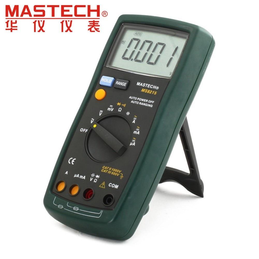 Multímetro Digital DMM AC DC Amperímetro Voltímetro