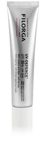 Filorga Uv-Defence trattamento solare anti age anti blur SPF 50+UVB UVA 40ml защита от солнца guam solare anti age spf 50 объем 100 мл