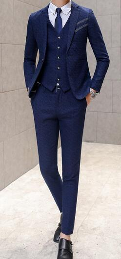 Navy Men Suits