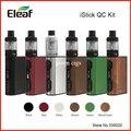 Оригинал Eleaf iStick QC 200 Вт 5000 мАч Батареи Мод с 3.5 МЛ МЕЛО 300 Бак Распылитель Комплект iStick QC 200 Вт с МЕЛО 300