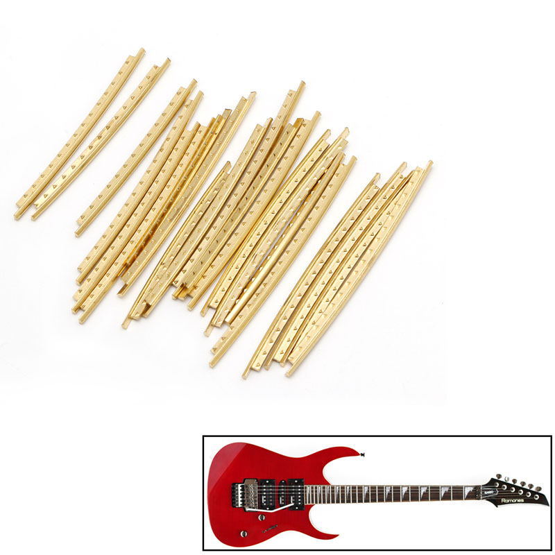 21 Pcs Fingerboard Frets Fret Wire Copper For Classical Acoustic Guitar 2.0mm L15 Latest Fashion Guitar Parts & Accessories Stringed Instruments