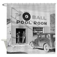 Các Tám Bóng Pool Room Rèm Tắm Trang Trí Vải Vòi Hoa Sen Rèm Bộ Nhà Doormats cho Phòng Khách Chống Trượt thảm