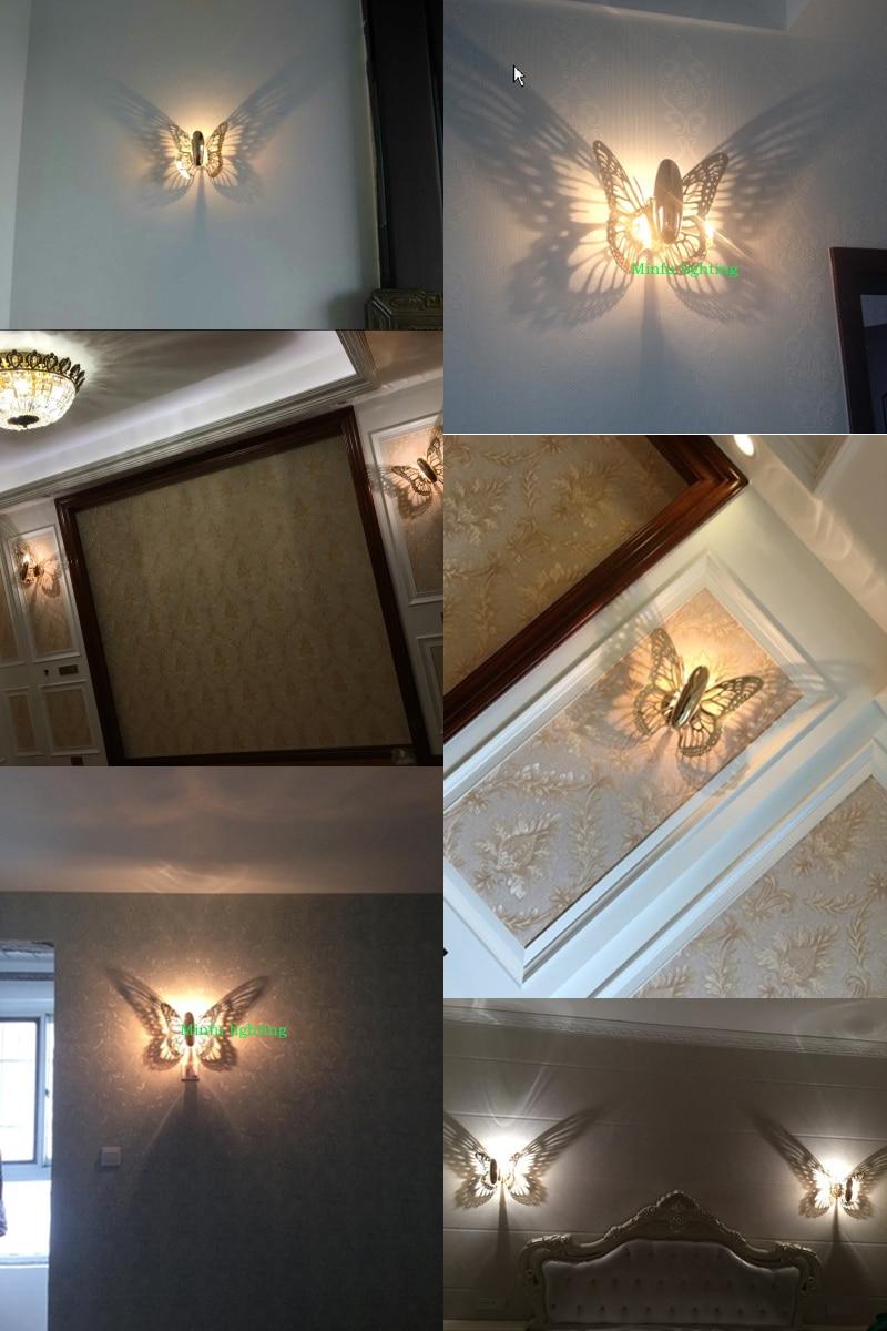 Moderne Wandleuchte Led Wandleuchte Innen Wandleuchten Badezimmerspiegel  Licht Für Zuhause Schlafzimmer Wandleuchten Industrielle Beleuchtung Hause  In ...