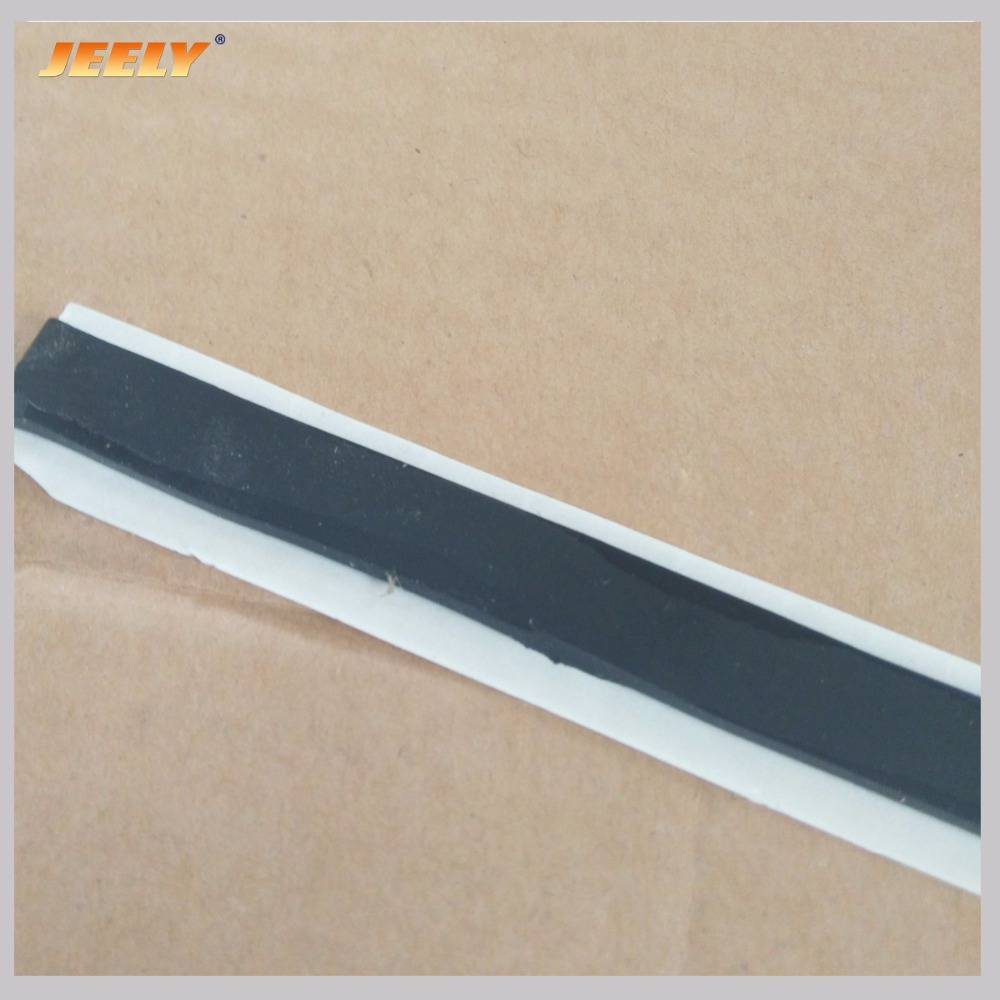 Jeely 3mmx12mmx7.5m/15m Butyl Vacuum Perfusion Seal Adhensive Tape Black/yellow/orange/brownish Color