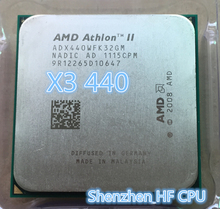 AMD Athlon II X3 440 x3 440  processor 3.0GHz 1.5MB L2 Cache Socket AM3 x3 440
