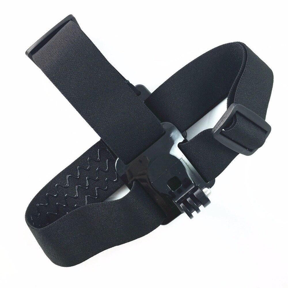 Sports DV Adjustable Head Strap Mount Belt for EKEN action camera H9/H9R H8/H8R F60 sj4000 Hero 2 / 3 1 xiaomi yi camera