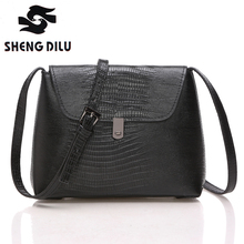 New Arrival 2016 Brief Women Cross-body Bags High Quality 100% Genuine Leather Messenger Bag For Women