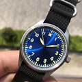 Часы San Martins  модные автоматические часы из нержавеющей стали  женские и мужские часы пилота  водонепроницаемые механические наручные часы д...