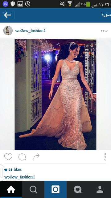 2016 de lujo celebridad de la tarde vestidos V cuello de encaje apliques vestidos de noche
