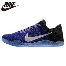 ba2beef3a02 Nike Kobe 11 Elite bajo zapatos de baloncesto de los hombres Original de  comodidad transpirable de deporte de goma zapatos púrpu.