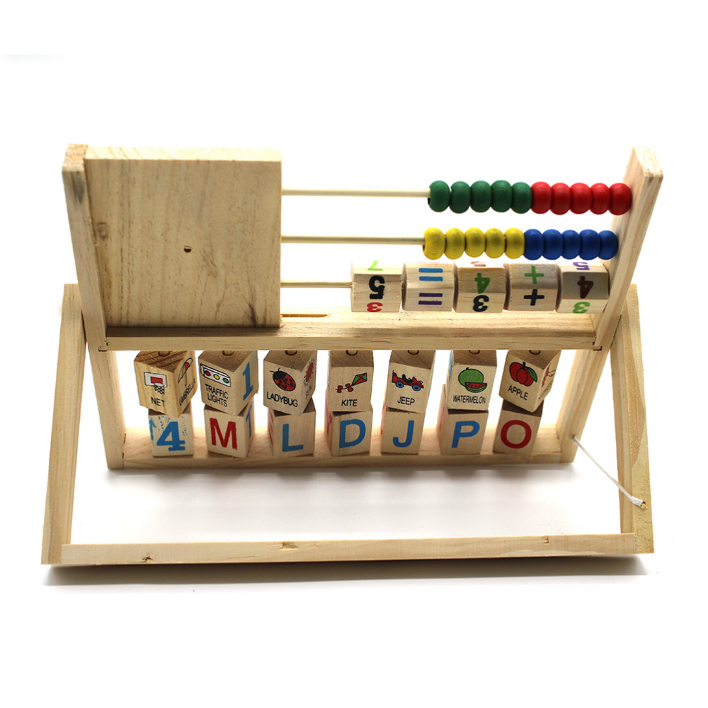 Subcluster Multifunction Computation Frames Learning Bead Toys For Childern Kids Abacus Computing Frame Counting Wooden Math Toy in Math Toys from Toys Hobbies