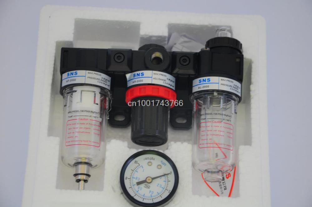 SNS Pneumatic FRL air source processor AC2000 oil mist separator filter regulator Airtac Type wavelets processor