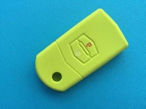 Image 5 - Silicone Key Case Cover For Mazda 3 2 6 2003 2004 2005 2006 2007 2008 2009 2010 2011 2012 2013 Car Key Holder 2 Button Flip Key