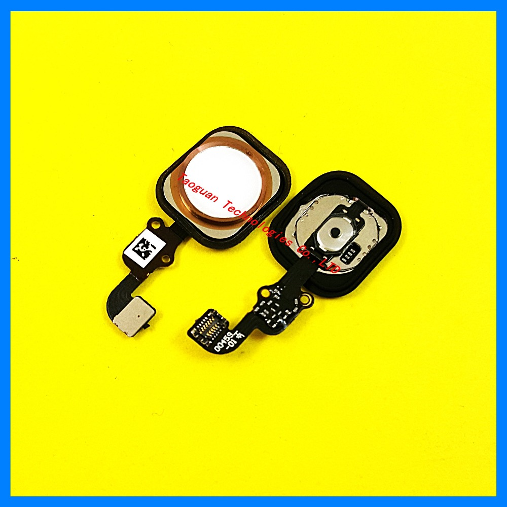 Original New Home Button Flex Ribbon Flat Cable replacement for iPhone 6S 6GS 4.7 gold/silver/black/rose gold top quality