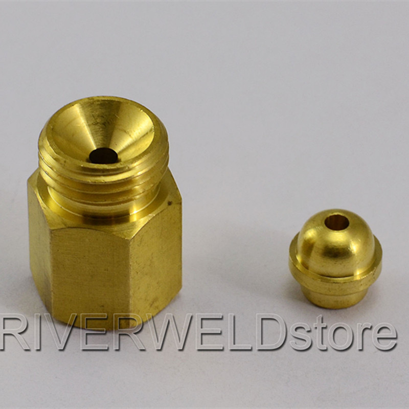 Cable Connector 1/4G TO M16*1.5 Cable  Joint Change Fit TIG Welding Torch Accessories