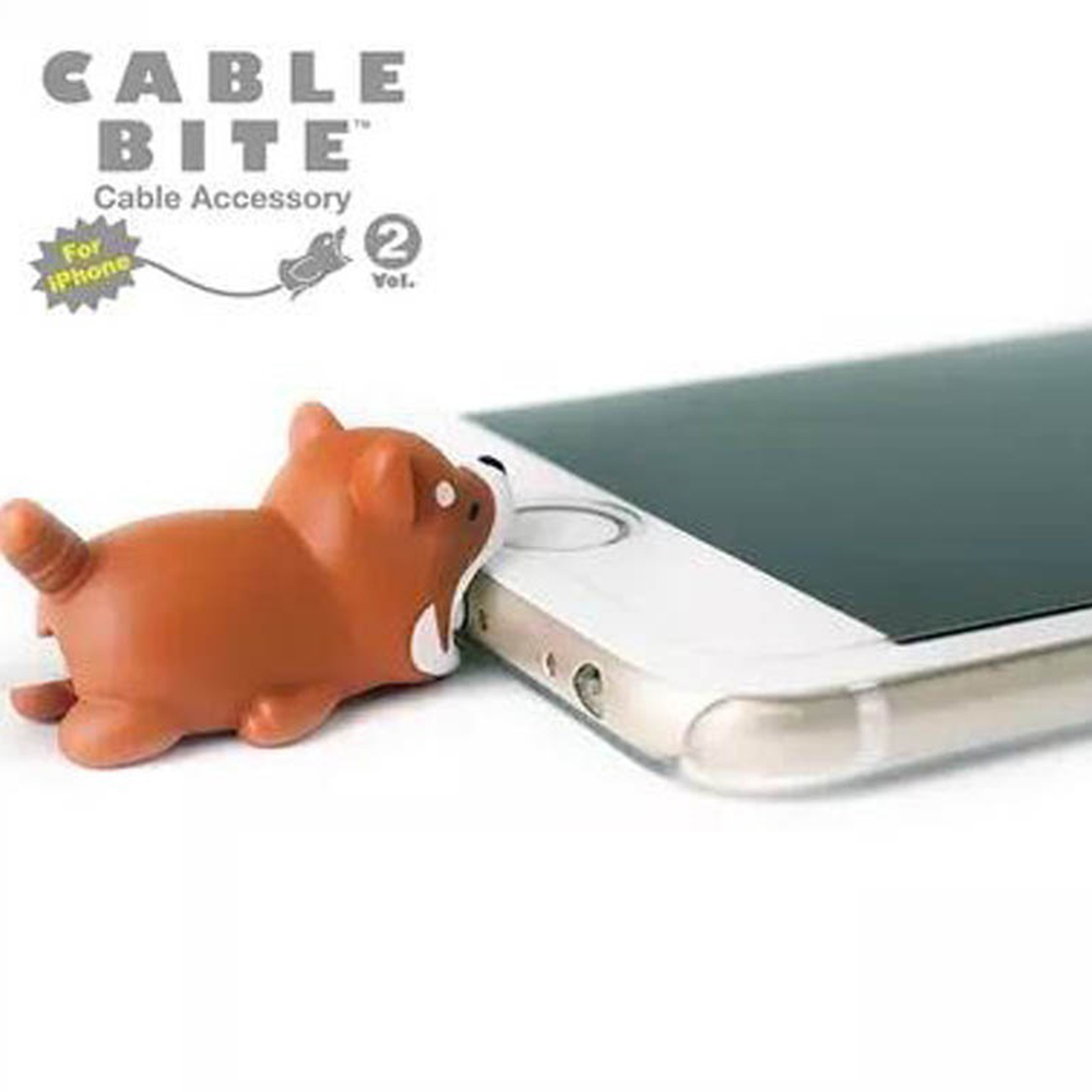 Mobile Phone Charging Cable Headphone Cord Protector Cute Animal Pattern For All Mobile Phone Wire Retainers