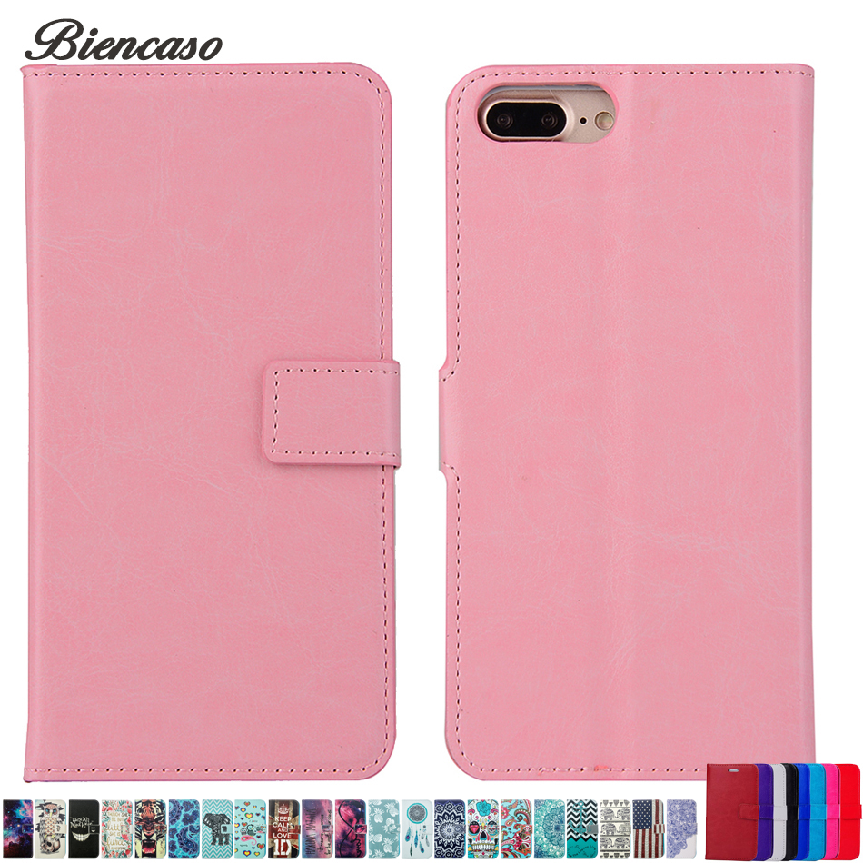 Wallet Leather Case For iPhone 8 Luxury Coque Cover for iPhone 7 6 S 6S Plus 5s SE 5 5C 4 4s Stand Card Slot Phone Cases B190