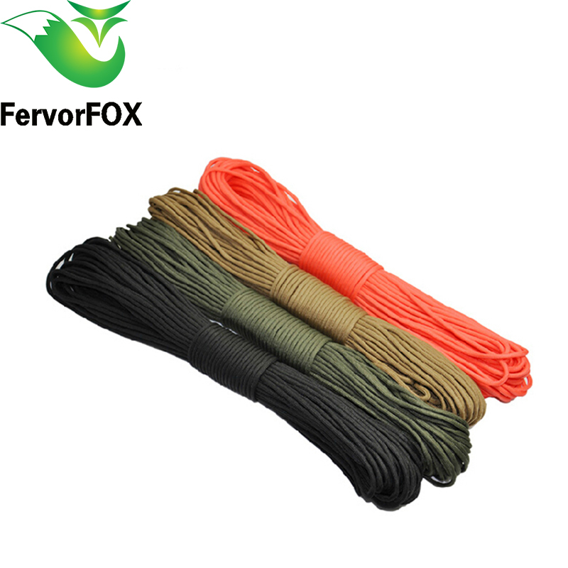 100 m (328 FT) Paracord 550 Paracord Parachute Cord Lanyard Rope Mil Spec Type III 7 Strand Climbing Camping survival equipment