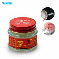 1Pcs 100% Original Vietnam Snake Balm Oil White Cream Pain Relief Ointment for Joint Arthritis Cold Dizziness Muscle Rub P0007