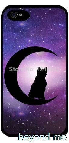 Кот на полумесяце