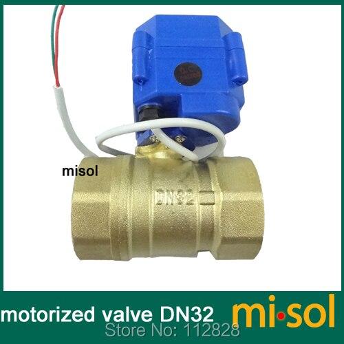 1pcs of Motorized valve brass G1 1/4