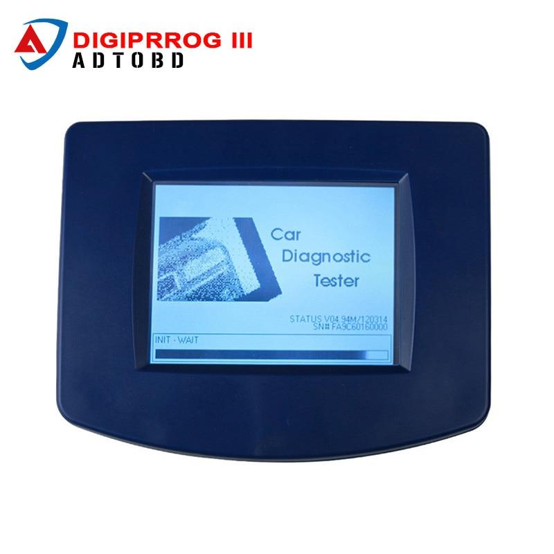 DHL Free Digiprog 3 Main Uinte Digiprog III Mainframe Odometer Programmer Mileage Correction Tool free shipping digiprog iii with obd good price
