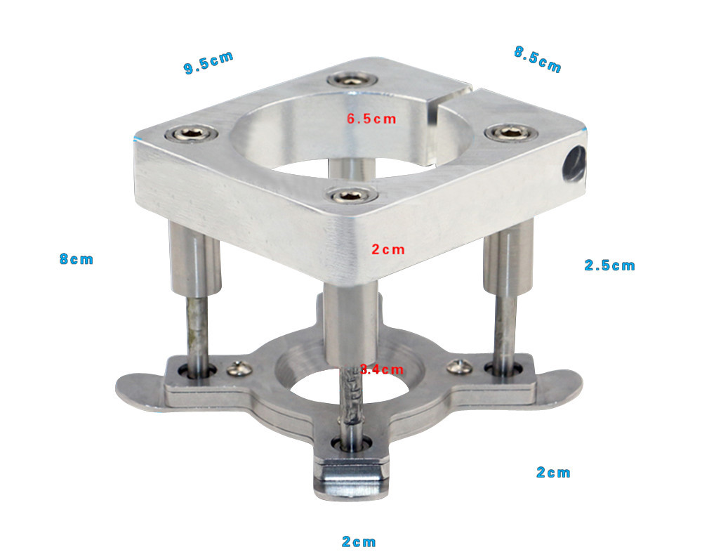 1Pc Woodworking Engraving Machine Accessory Principal Axis Automatic Platen Device DIY Sparepart CNC Platen Jig Fixture 65mm agriculture machine accessory china cnc machine accessory