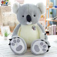 70 cm peluche Koala gris jouet peluche Koalas Animal bébé enfants enfants cadeau d'anniversaire maison boutique décoration Triver livraison directe
