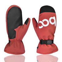 Waterproof Thermal Women Man Winter Ski Gloves Snowboard Snowmobile Motorcycle Cycling Outdoor Sports Gloves 3 Colors