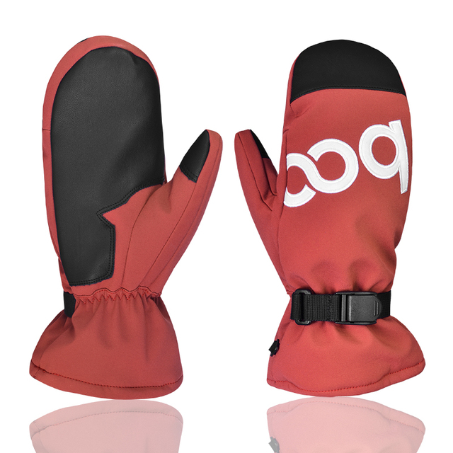 Водонепроницаемый Термальность Для женщин человек зимние лыжные перчатки для сноуборда Снегоход Мотоцикл Велоспорт Открытый спортивные перчатки 3 цвета