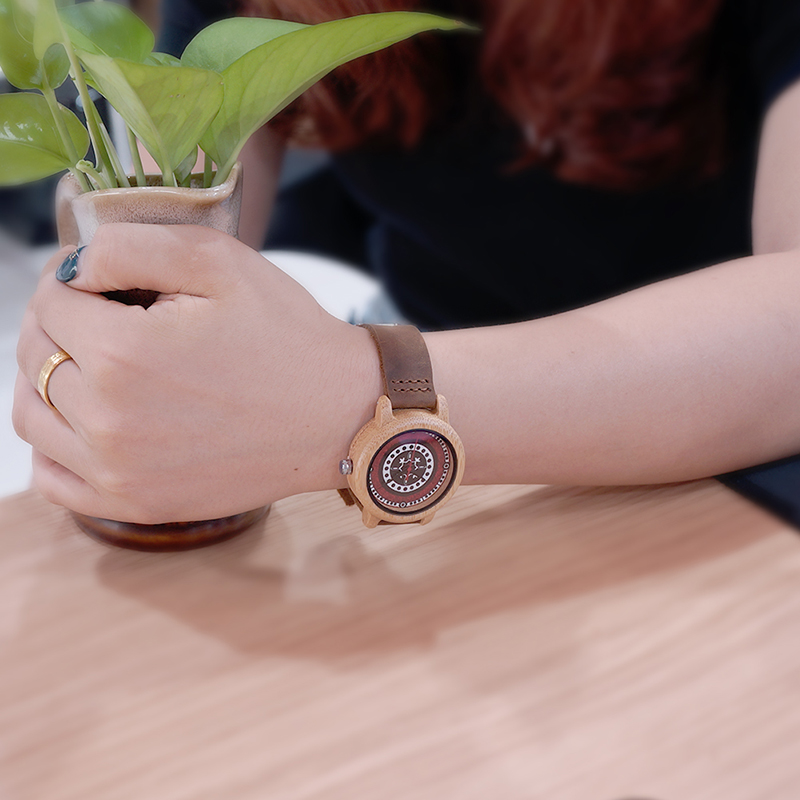 2017 BOBO BIRD Brand Women Watches 37mm Bamboo Wood Ladies Wristwatches Female (6)
