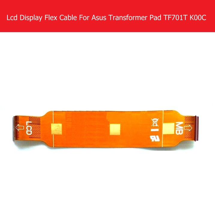 все цены на Weeten Genuine LCD Panel Flex Cable For ASUS Transformer Pad TF701T K00C LCD Display Flex cable & Screen LCD PCB replacement онлайн