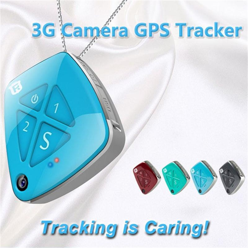 RF-V42 WCDMA 850/1900MHz 900/2100MHz 3G SOS GPS Rastreador Micro Tracking Device For Kids Elderly Adult With Camera Monitoring 1 pcs full range multi function detectable rf lens detector wireless camera gps spy bug rf signal gsm device finder