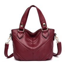 2019 New Tote Bags for Women Leather Handbags Luxury Artificial Leather Women's Shoulder Bag Crossbody Ladies Hand Bags