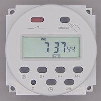 Цифровой таймер с ЖК-дисплеем OKtimer CN101A  220 В  230 В  240 В переменного тока  программируемый таймер  реле времени 16A  таймеры CN101