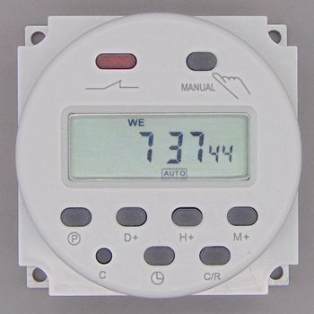 OKtimer CN101A AC 220 V 230 V 240 V Digital LCD Poder Programável Temporizador Interruptor de Tempo Relé 16A timers CN101 temporizador