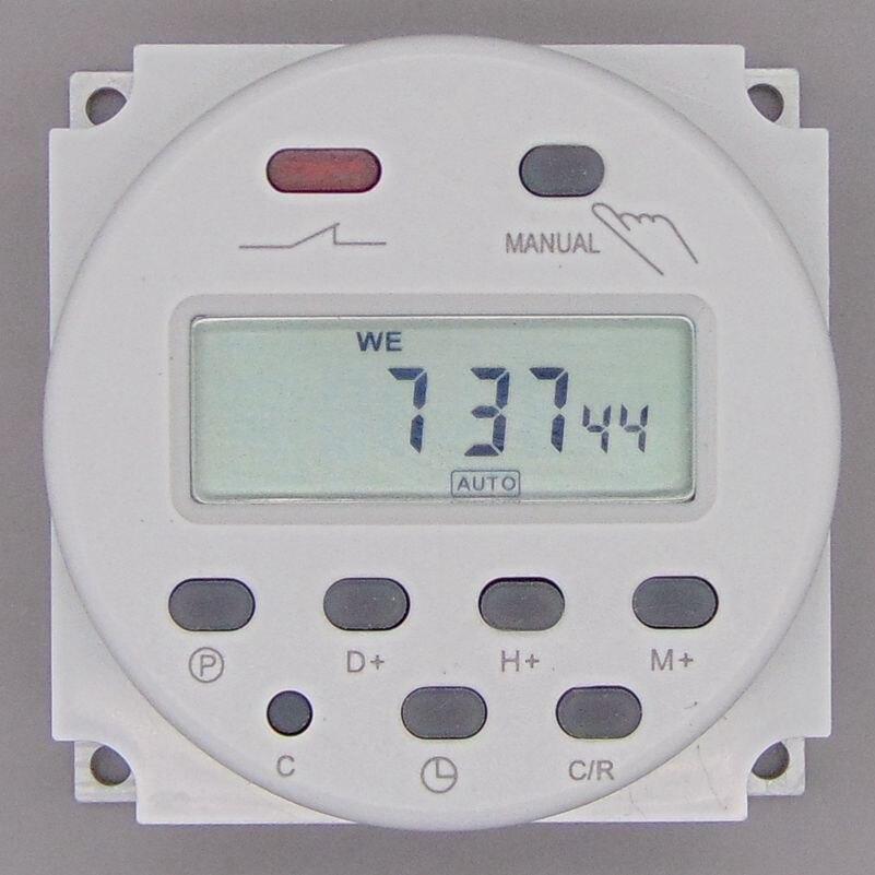 OKtimer CN101A AC 220 V 230 V 240 V Digital LCD Power Timer Programmierbare Zeitschaltuhr Relais 16A timer CN101 timer