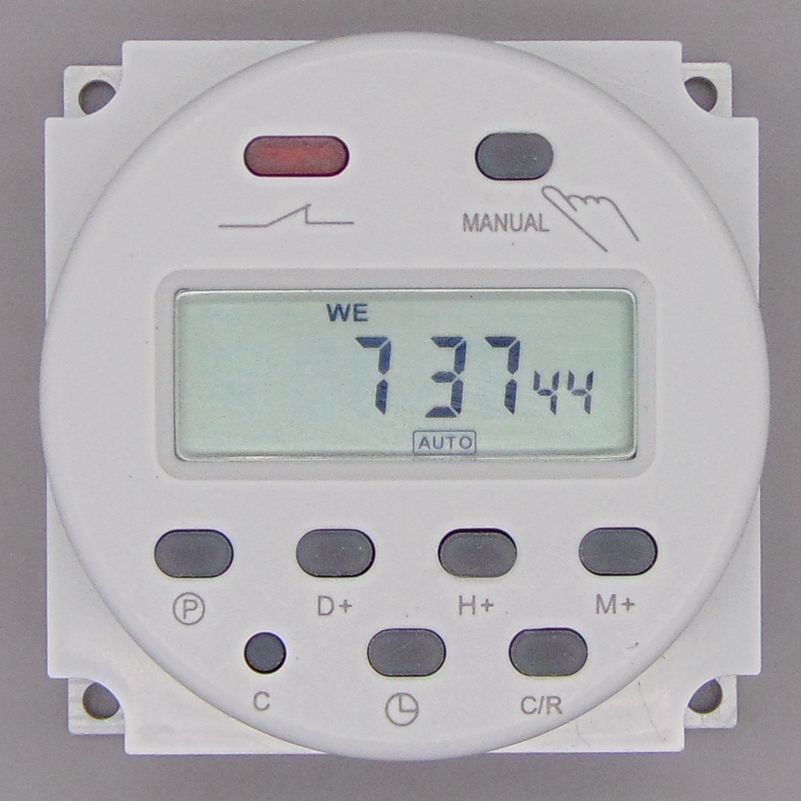 OKtimer CN101A AC 220V 230V 240V Digital LCD Power Timer Programmable Time Switch Relay 16A timers CN101 timer
