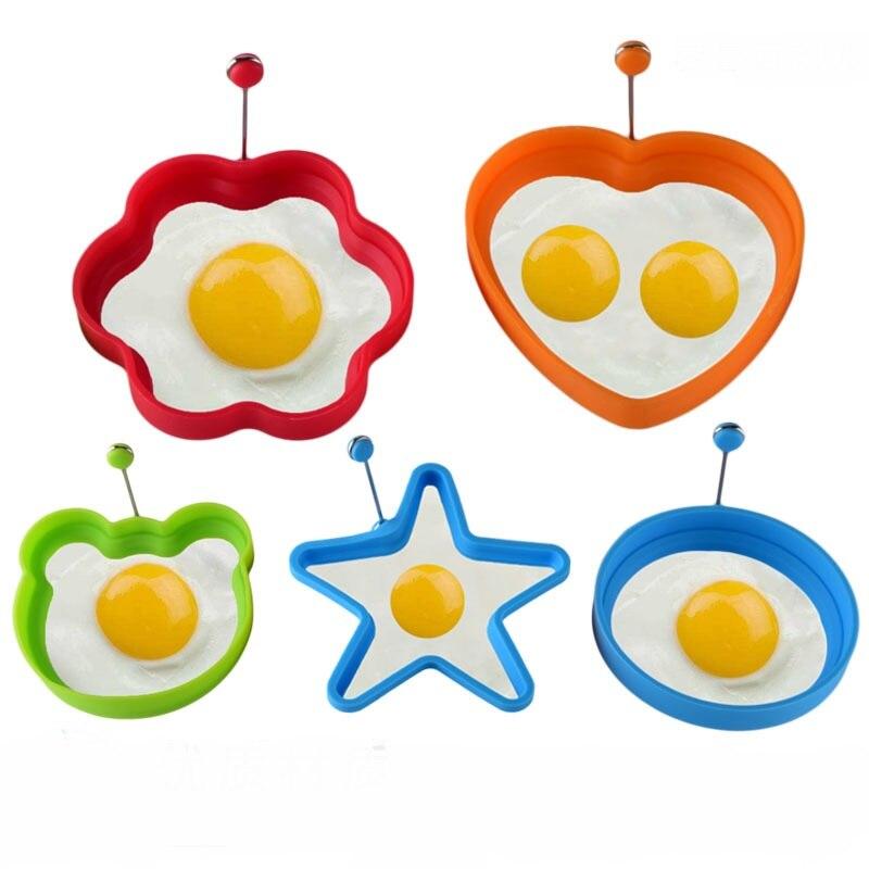 Aggressiv Kreative Förmige Silikon Spiegelei Werkzeug Küche Pfannkuchen Ring Omelett Ei Form Für Kochen Frühstück Pfanne Ofen Eier Formen Um 50 Prozent Reduziert