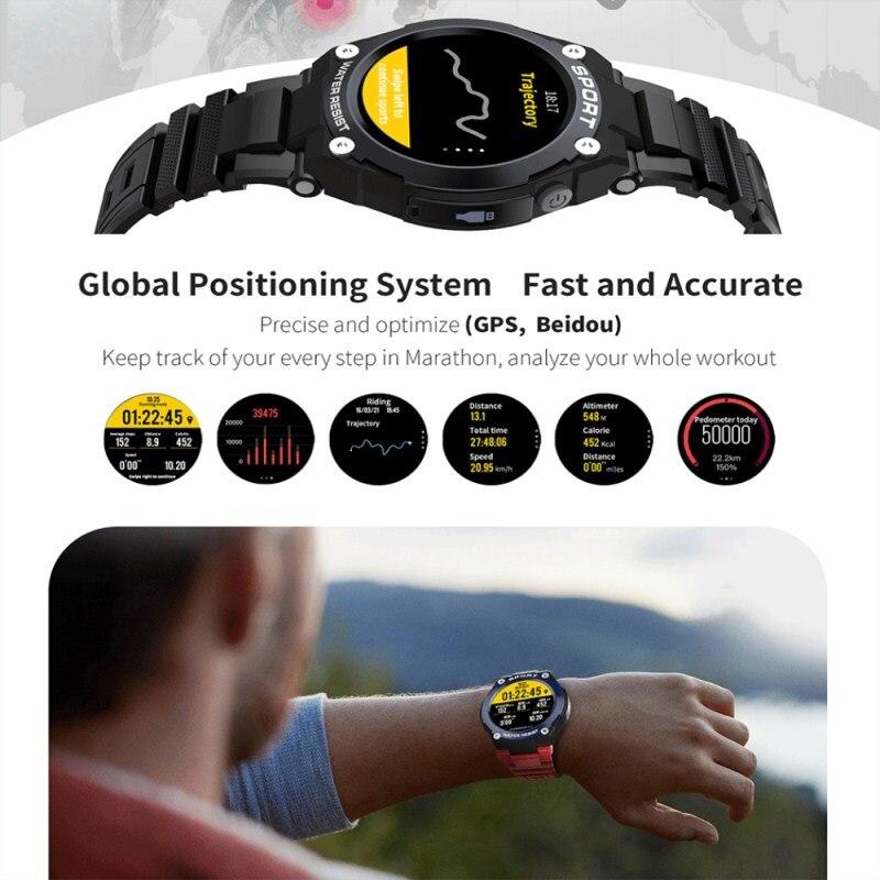 № 1 G9 1,3 дюймов gps Bluetooth Смарт часы на открытом воздухе сердечного ритма вызова несколько спортивных режимов IP67 Смарт часы мобильного телефона для мобильного телефона 2G GSM часы телефон - 2